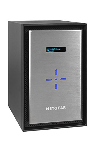 Netgear RN528X00-100NES ReadyNAS 528X Diskless Network Attached Storage, 8-Bay