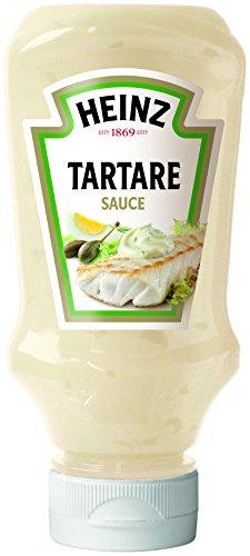 Heinz Tartare Sauce, Kopfsteher Squeezeflasche, 8er Pack (8 x 0.22 l)