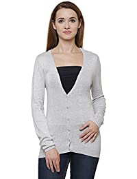 MansiCollections Classic Grey Cardigan for Women