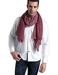 Prettystern - bufanda larga de lino de 200 cm y ropa para el pañuelo para el cuello Modal fibra natural de color - selección de color