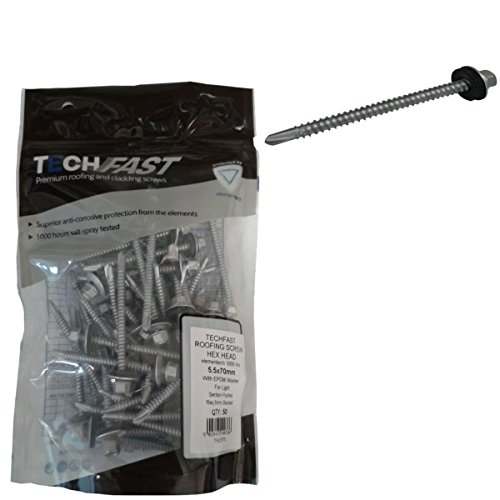 TechFast Roofing Screw Light Section Purlins Bag