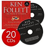Ken Follett Pillars of the Earth and World Without End Collection - 20 CDs (Audio)