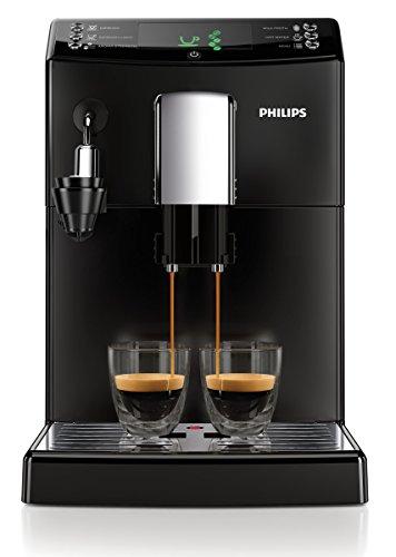 Philips HD8832/01 3100 Serie Kaffeevollautomat, automatischer Milchaufschäumer, schwarz