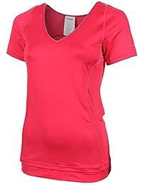 Reebok Heroine Womens Ladies Fitness T-Shirt Pink