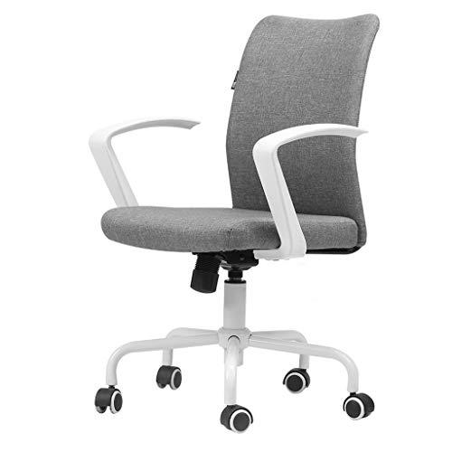 Executive Office Chair Spielstuhl Atmungsaktive Baumwolle Und Leinen Komfortable Rotierende Aufzug Schlafzimmer Arbeitszimmer Lernen