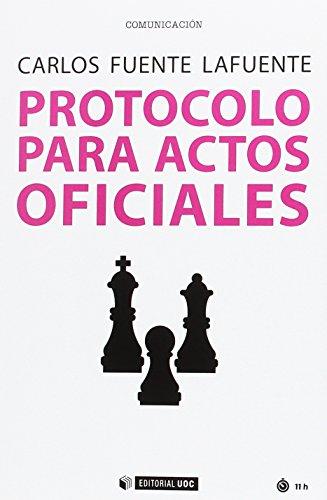Protocolo para actos oficiales (Manuales)