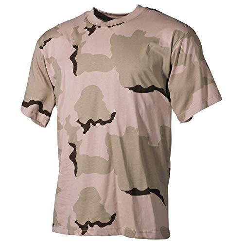 US Army T-Shirt 3 Farben-Desert XS-XXL M M,3 Farben desert