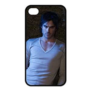 Creative Ian Somerhalder Damon Salvatore in The Vampire Diaries Iphone 4 or 4s Best Rubber+PVC Case By Funny Phone Case