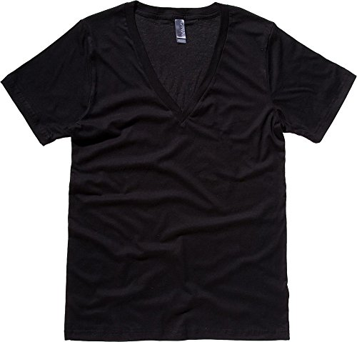 Bella Canvas Herren T-Shirt Schwarz