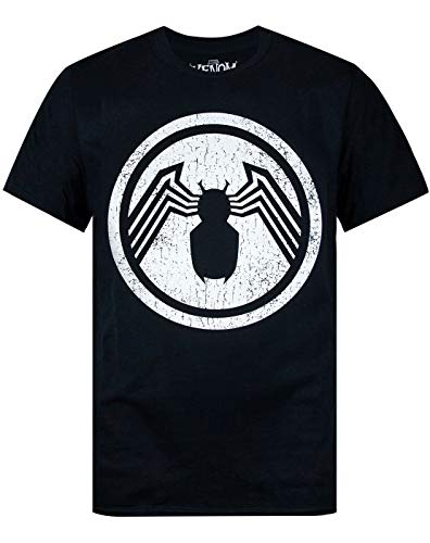 Marvel Venom Distressed Logo Men's T-Shirt (L)