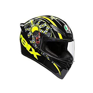 AGV 0281A0I0_003_L K1 E2205 Helm TOP- FLAVUM 46, Gelb, Größe L