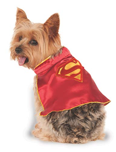 Rubies Costume Company DC Comics Super Girl Pet Cape