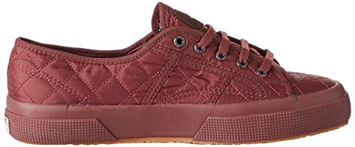 Superga 2750-quiltnylu, Basses Mixte Adulte Rosso (Full Bordeaux)