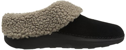 Pantofole Fitflop Ladies Loaff Snug Nere