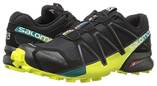 Salomon L39239800 Speedcross 4 Trail Runner, Men's UK 10 (Black)