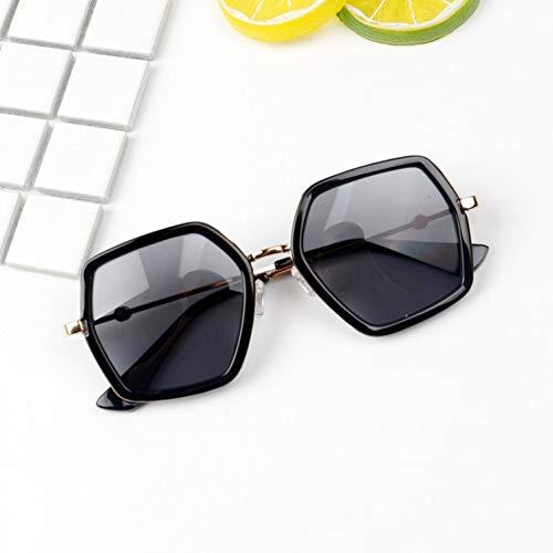 Kjwsbb Kinder Sonnenbrillen Cool Polygon geformt Sechseck Baby niedliche Mädchen Jungen Eyewear Kinder Sonnenbrille