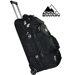 Cox Swain Wheeled Holdall Trolley Travel Bag Wheelie Professional 84 89 Litre from Cox Swain