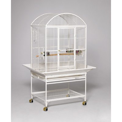 midwest-homes-for-pets-chiquita-bird-cage-pearl-white-dometop