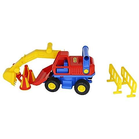 """Putzwagen polesie9708""""ConsTruck Bagger Spielzeug"""