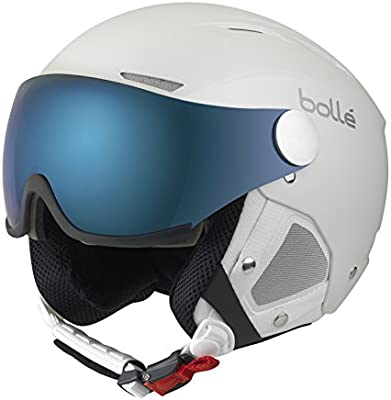 Bollé Casco de esquí Backline Visor White/Silver/Grey/Blue/Lemon