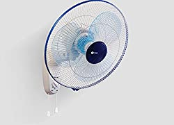 Orient Wall Fan 400 MM wall 44 Azure Blue White