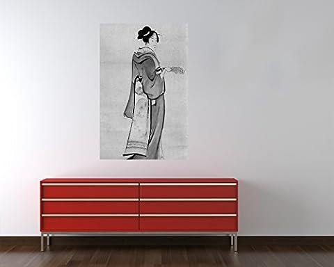 Bilderdepot24 Papier peint intissé Katsushika Hokusai - Vieux Maître Art Peinture