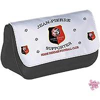 Trousse Stade Rennais Football Club personnalisée prénom Trousse SRFC - Trousse Rennes - cadeau anniversaire - cadeau de noël - fête des pères
