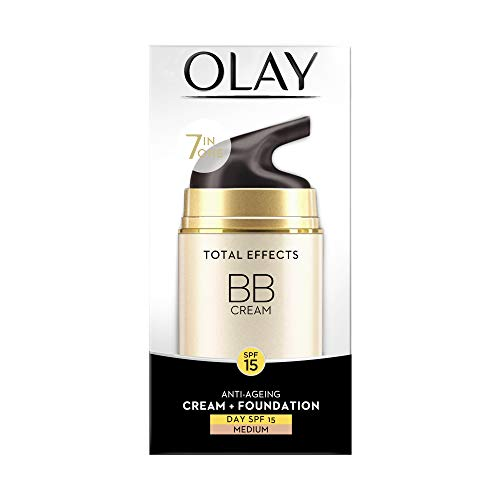 Olay Total Effects 7-in-1 Anti-Ageing BB Day Cream with Touch of Foundation SPF15, 50g