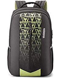American Tourister Jet 31 Ltrs Black Casual Backpack (FE0 (0) 09 003)