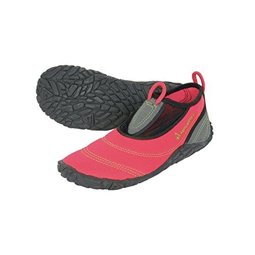 AQUA SPHERE - Herren Beachwalker - Schwarz Schuhe in Übergrößen Schwarz-Rot