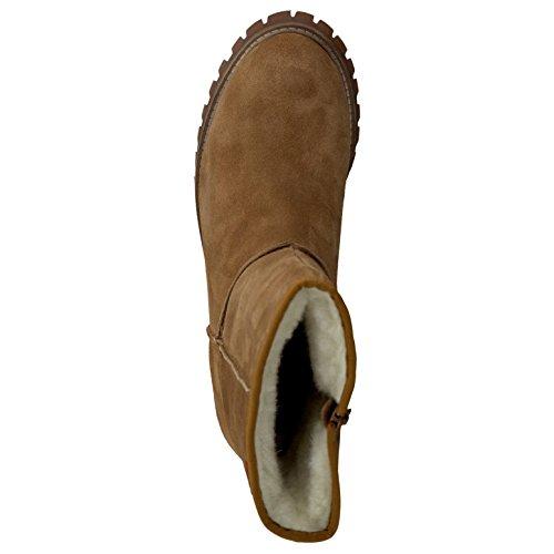 s.Oliver Damenschuhe 5-5-26491-27 Damen Stiefel, Boots, Stiefeletten Camel
