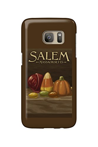 Salem, Massachusetts - Candy - Halloween Oil Painting (Galaxy S7 Cell Phone Case, Slim Barely There)