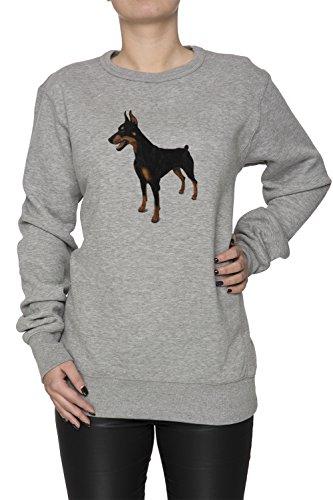doberman-pinscher-cane-razza-donna-grigio-felpa-felpe-maglione-pullover-grey-womens-sweatshirt-pullo