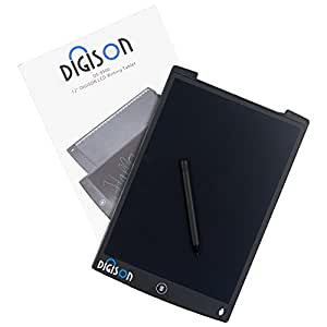 DIGISON DS-9500 LCD 12 Zoll Writing Tablet / Grafiktablet / Schreibtafel (Schwarz, inkl. Stift)