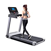 ‏‪Treadmill 2.0HP Free Installation Foldable With Smart Bluetooth Tablet Stand Shock Absorption Silent Walking Jogging Machine Home Gym Office‬‏