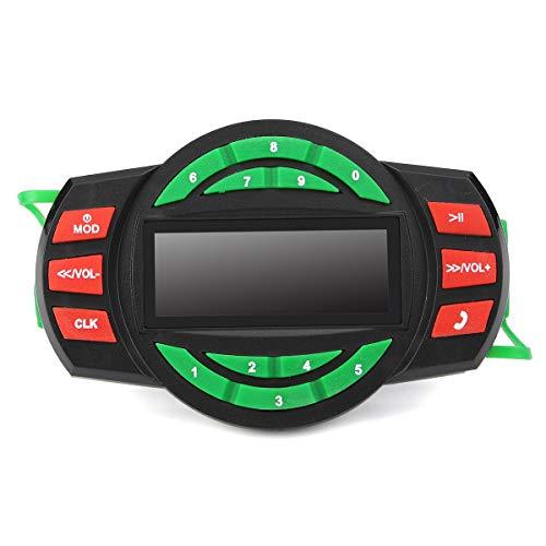 Wooya Moto Modificate Maniglia in Gomma Maniglia Impostato per Attivare Il CNC Elaborare Nuovi Barracuda-Verde