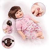 HONGRO DOLL Bambole Reborn, Bambola Realistic e Belle in Silicone con Sorriso, 55 cm Bambino Reborn Realistico Set da 10 Confezioni Regalo, EN71