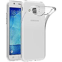 """Funda Samsung Galaxy J5 2015, AICEK Samsung Galaxy J5 2015 (J500FN) Funda Transparente Gel Silicona Galaxy J5 2015 Carcasa para Galaxy J5 2015 5.0"""""""