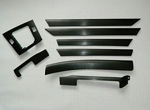 Dekorleisten Interieurleisten BMW E46 Folien Set schwarz hochglanz