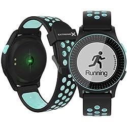 SPORTUHR - Sportwatch Wasserdicht IP68 - Fitness Armband mit Schrittzähler, GPS, Schlafanalyse, Pulsmesser, Herzfrequenz-monitor, Touchscreen, Aktivitätstracker,   Für Herren, Damen