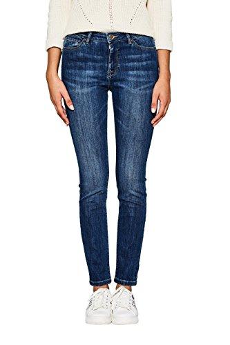 edc by ESPRIT Damen Skinny Jeans 997CC1B816, Blau (Blue Medium Wash 902), W26/L32