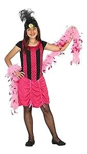 Atosa-20806 Disfraz Cabaret, Color Fucsia, 5 a 6 años (20806)
