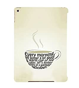 EPICCASE Cuppa Coffee Mobile Back Case Cover For Apple Ipad Air 2 (Designer Case)