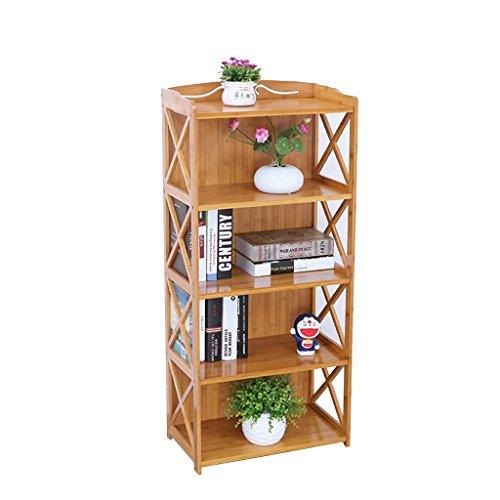 WYDM Einfaches hölzernes Blumen-Gestell, kreativer Bücherschrank der 4 Schichtlandungs-zusammengebauten Kinder, Speicher-Gestell der Kinder, Blumen-Gestell für Wohnzimmer/Schlafzimmer