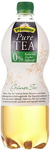 Puro Grün (Pfanner Pure Tea Grüner Tee, EINWEG PET (6 x 1 l))