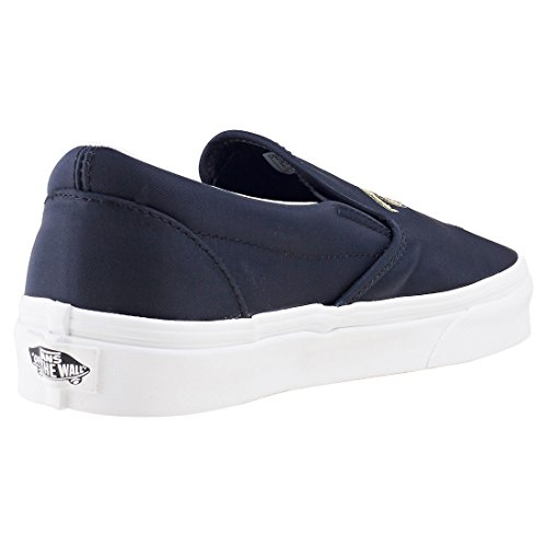 Vans Classic Slip On Femme Baskets Mode Noir Noir