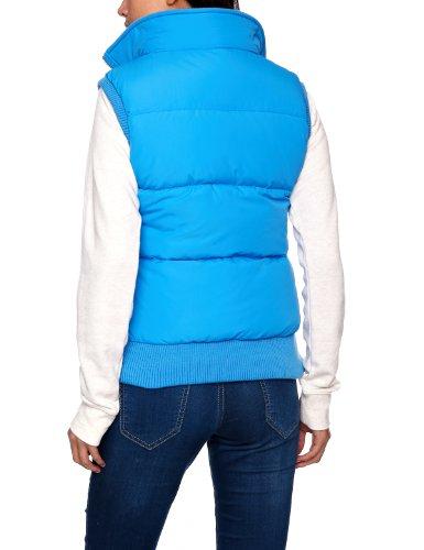 Rampant Sporting - Gilet, cappuccio, donna Blu (Azure)