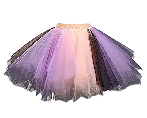 Costumes De Danse Vêtements - Facent Femme Ballet Tutu Tulle Jupon Costume