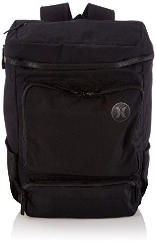 Hurley Hombre Sportswear cinturón Stacked Bag, Black, One Size, AMBASTK