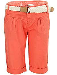 Fresh Made chino–Pantalones cortos bermuda para cinturón
